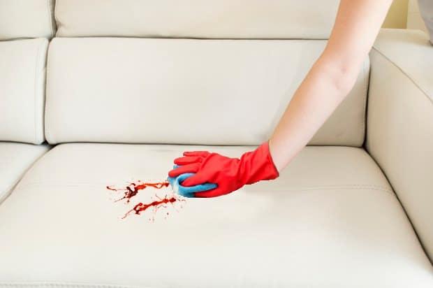 quitar manchas de sangre